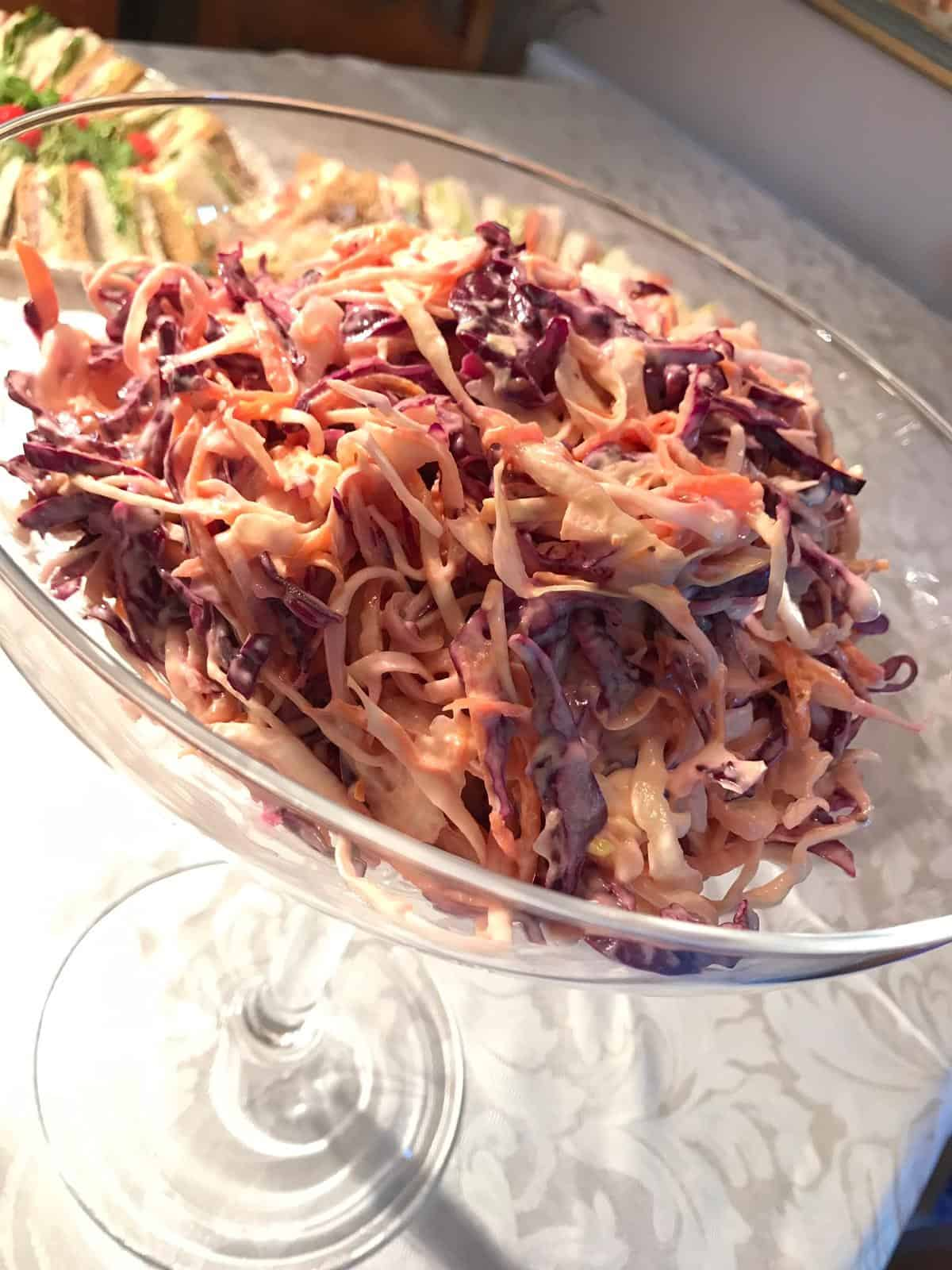 Event Catering Coleslaw