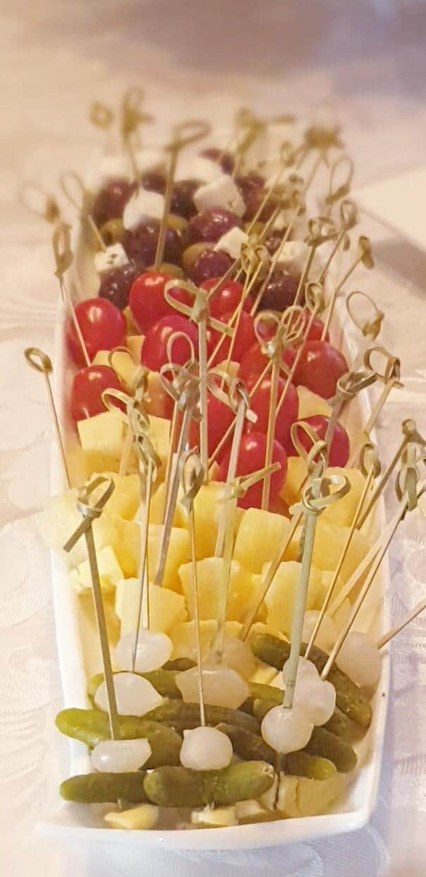 Event Catering Dish of party food