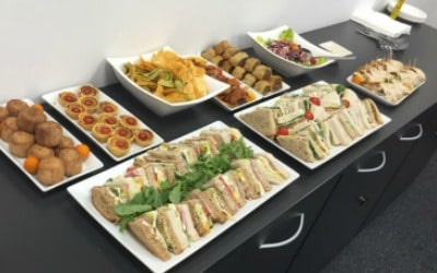 Corporate Catering Buffet Spread