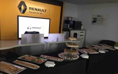 corporate catering Renault Uk