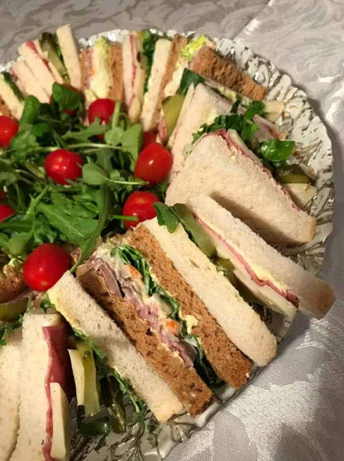 Sandwich Platter Funeral Catering