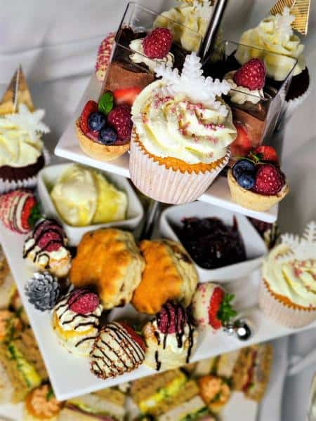 Christmas Afternoon Tea Delivered Worcestershire