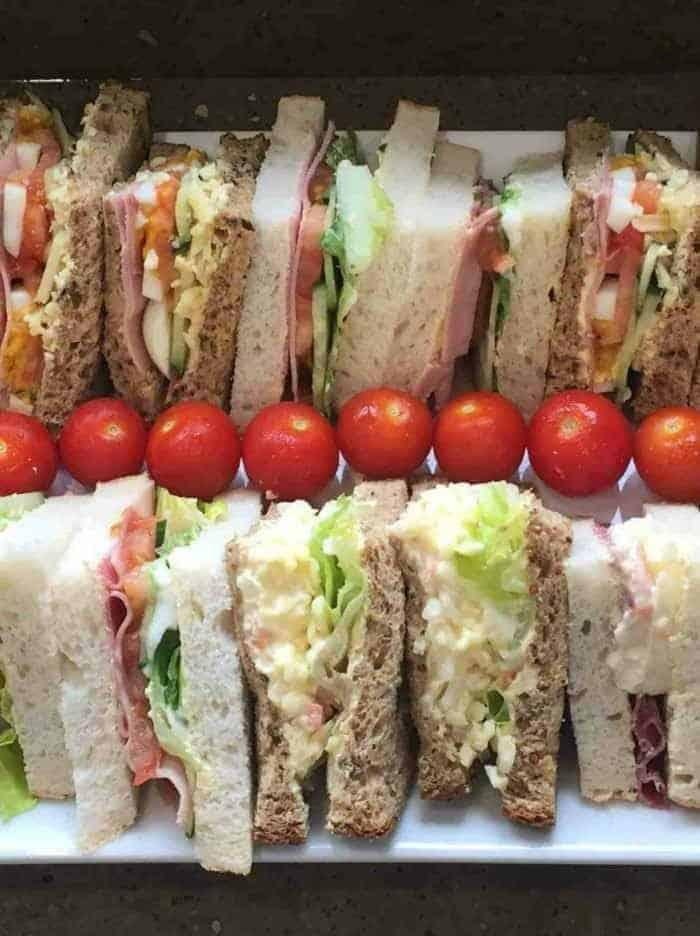 sandwich platter delivered in Worcester